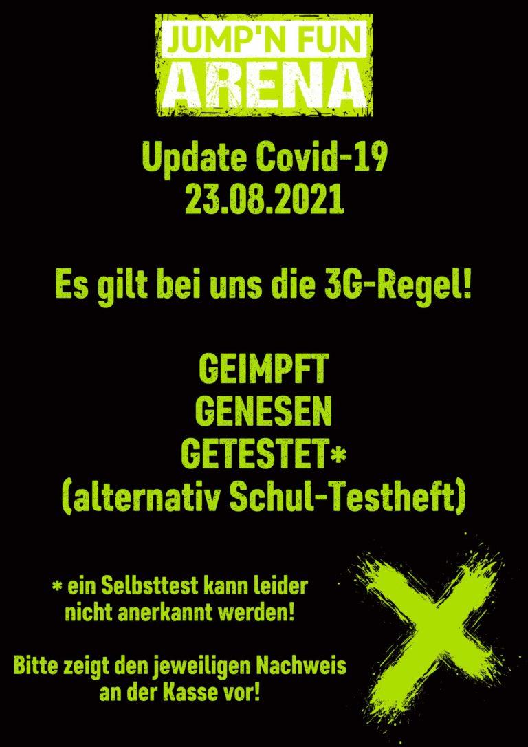 Update Covid 23.08.2021